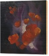 Ethereal Poppies                     81 Wood Print