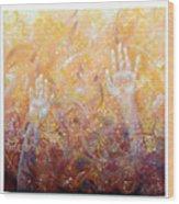 Ethereal Revelation Wood Print