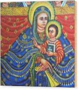 Ethiopian Angels Wood Print