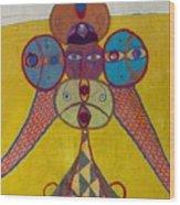 Ethiopian Ornament  Wood Print