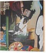 Ethiopian Traditions Wood Print