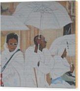 Ethiopian Travelers Wood Print