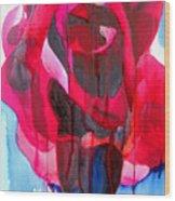 Etoile De Holland Rose Wood Print