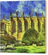 Eton College Chapel Art Wood Print