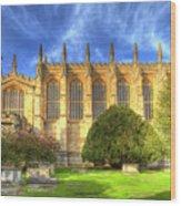Eton College Chapel Wood Print