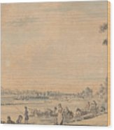 Eton College From The South Wood Print