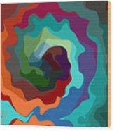 Etourdissement - 11a Wood Print