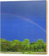 Etowah Rainbow Wood Print