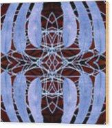 Eucalyptus Globulus Tasmanian Blue Gum Leaves Wood Print