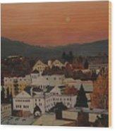 Eugene Ore Wood Print
