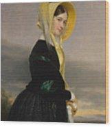 Euphemia White Van Rensselear Wood Print