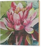 Eureka Springs Lily Wood Print