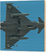 Eurofighter Typhoon 2000 Profile Wood Print
