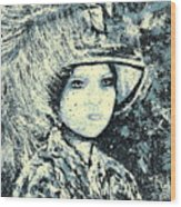 Evalina Wood Print