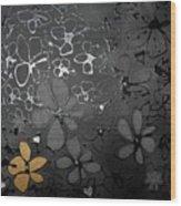 Eva's Garden Wood Print