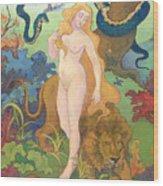 Eve Wood Print by Paul Ranson