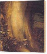 Eve Repentant  Wood Print