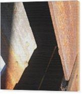 Even Angle Wood Print
