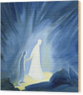 Even In The Darkness Of Out Sufferings Jesus Is Close To Us Wood Print
