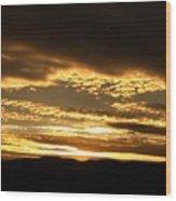 Evening Grandeur Wood Print