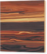 Evening In Ottawa Valley 1 Wood Print