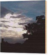 Evening Sky 1 Wood Print