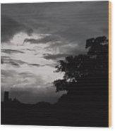 Evening Sky 3 Wood Print
