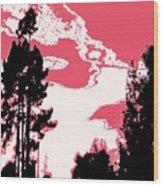 Evening Dancer Wood Print