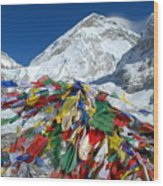 Everest Base Camp Wood Print