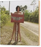 Everglades City Photographer 432 Wood Print