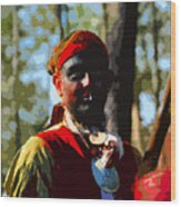 Everglades Seminole Portrait Number Three Wood Print