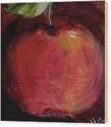Eve's Apple.. Wood Print