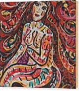 Eve's Dream Wood Print