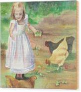 Evie Wood Print