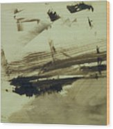Evocation Of An Island Wood Print