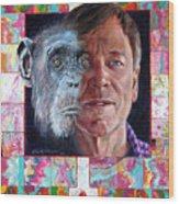 Evolution Of The Self Portrait Wood Print