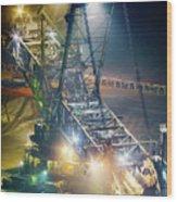 Excavator Coalmine Garzweiler  Wood Print