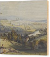 Exeter From Exwick, 1773 Wood Print