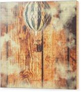 Exhibit In Adventure Wood Print