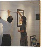 Exhibition Cozumels Museum Wood Print