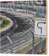 Exit Breidscheid Wood Print