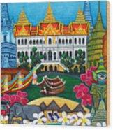 Exotic Bangkok Wood Print by Lisa  Lorenz