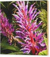 Exotic Flora Wood Print