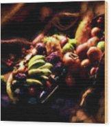 Exotic Fruit Platter Wood Print