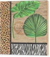 Exotic Palms 2 Wood Print