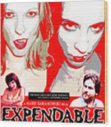 Expendable Poster Wood Print