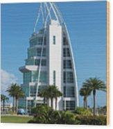 Exploration Tower Florida Wood Print