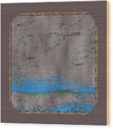 Explorer Gray Wood Print