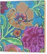 Exploring Blooms Wood Print