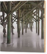 Exposed Structure Wood Print